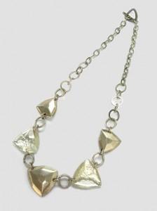 Halsband Glaspyramiden