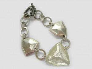 Armband Glaspyramiden